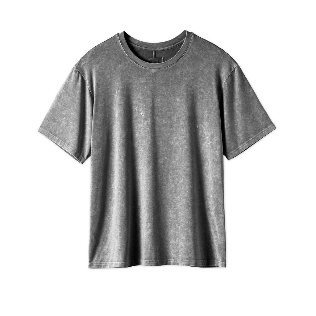 THE CLASSIC IMPERIAL TEE - WASHED GREY