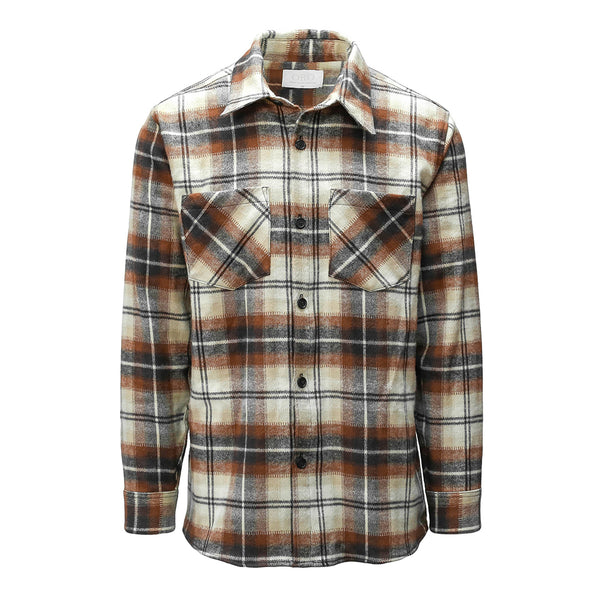 THE HAZEL BRUSH PLAID SHIRT
