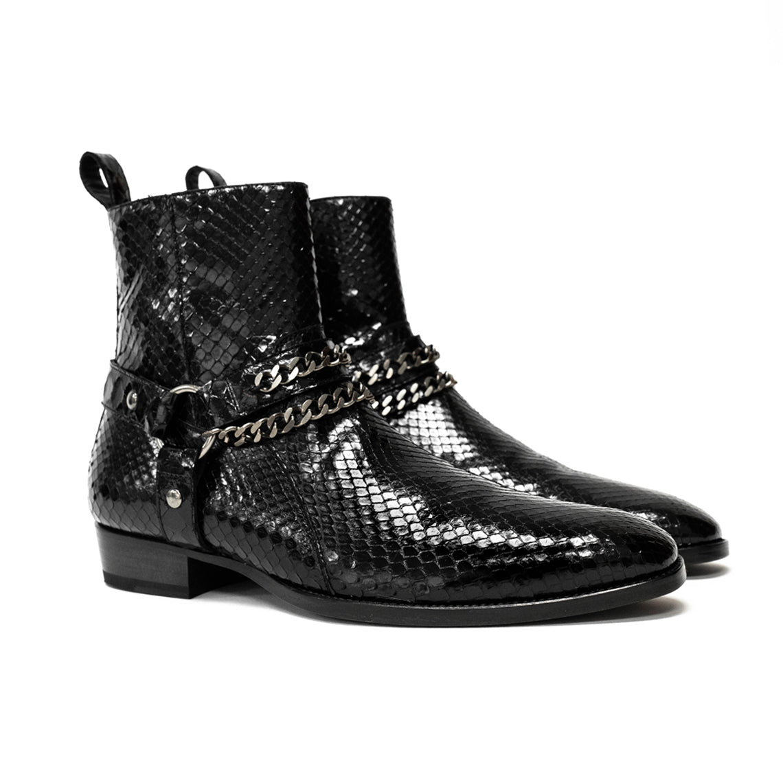 THE HENRIK PYTHON HARNESS BOOTS