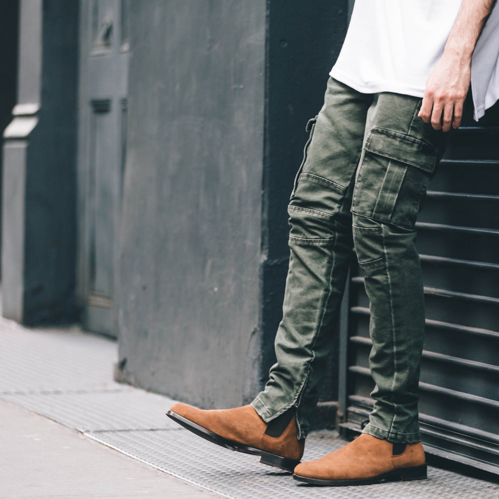 THE OLIVE CARGO PANTS - ORO Los Angeles - 2