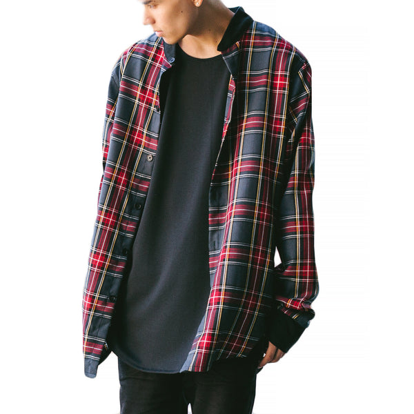 THE MONARCH PLAID SHIRT - ORO Los Angeles