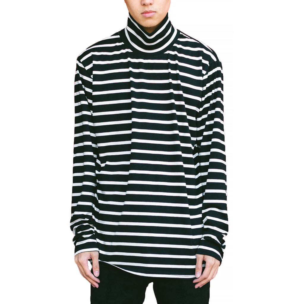 THE STRIPE TURTLENECK SHIRT