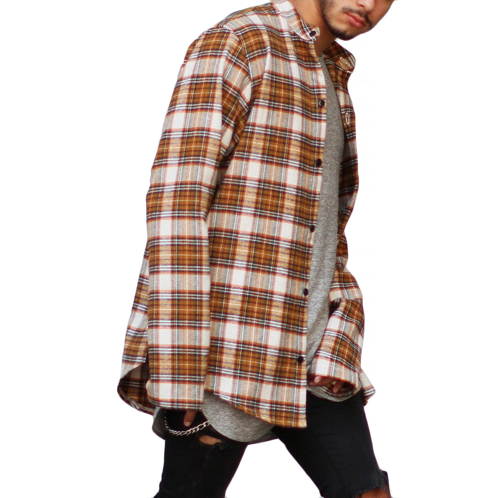 THE CLASSIC BRUSH PLAID SHIRT - ORO Los Angeles - 1