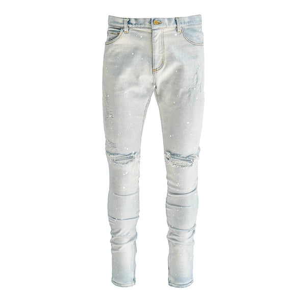 THE INDIGO PAINT DENIM