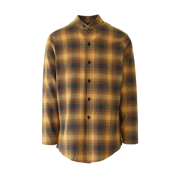 THE MAHOGANY BRUSH PLAID SHIRT