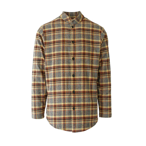 THE MAIZE BRUSH PLAID SHIRT