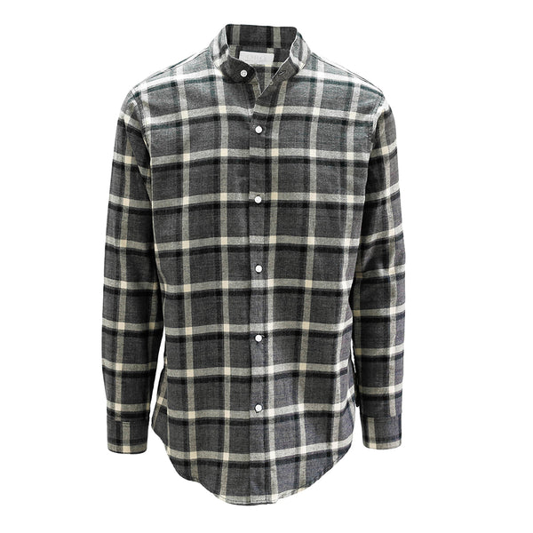 THE MIDNIGHT BRUSH PLAID SHIRT