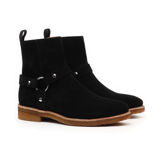 THE NOIR WES-HARNESS BOOTS