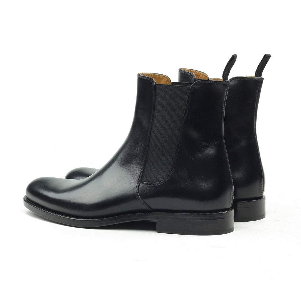 THE ONYX LEATHER CHELSEA BOOTS - ORO Los Angeles - 2