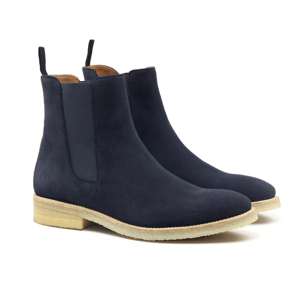 THE PRUSIA CREPE CHELSEA BOOTS