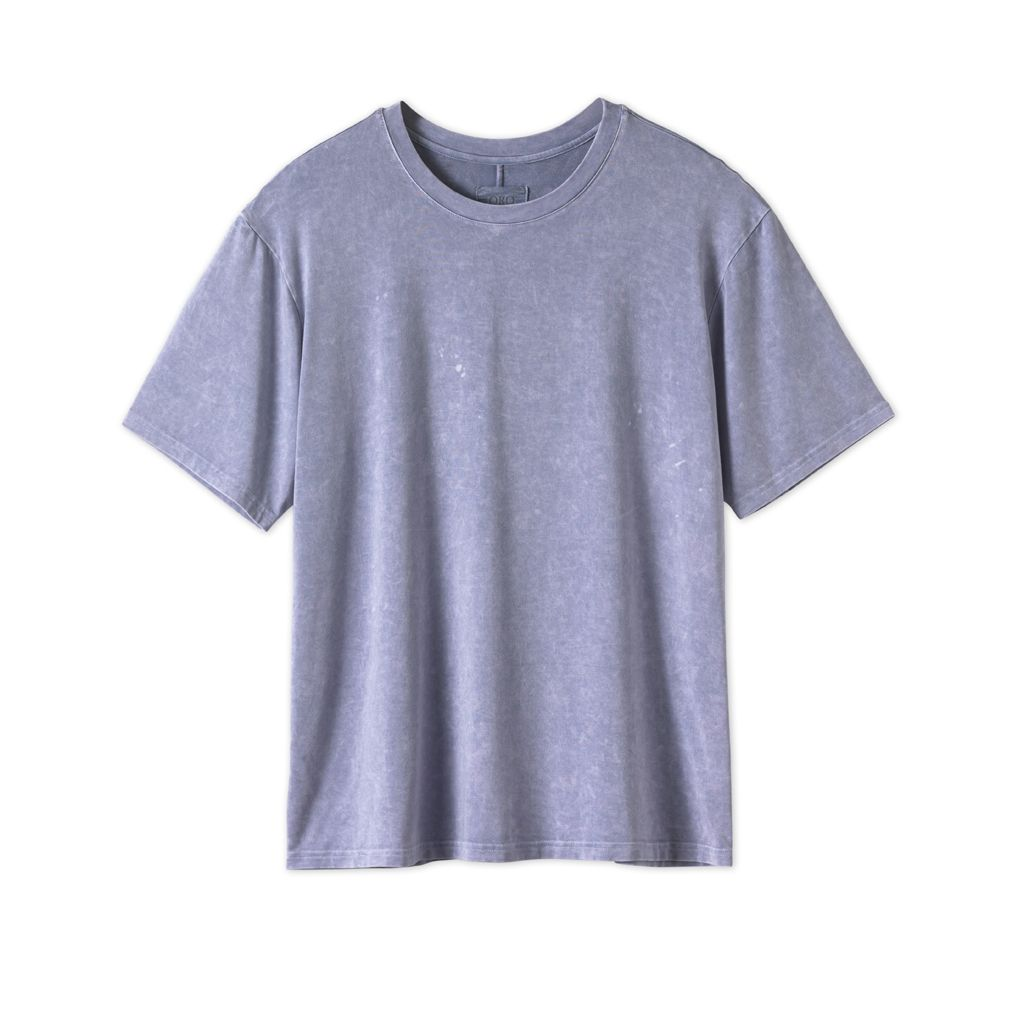 THE CLASSIC IMPERIAL TEE - WASHED ROYAL