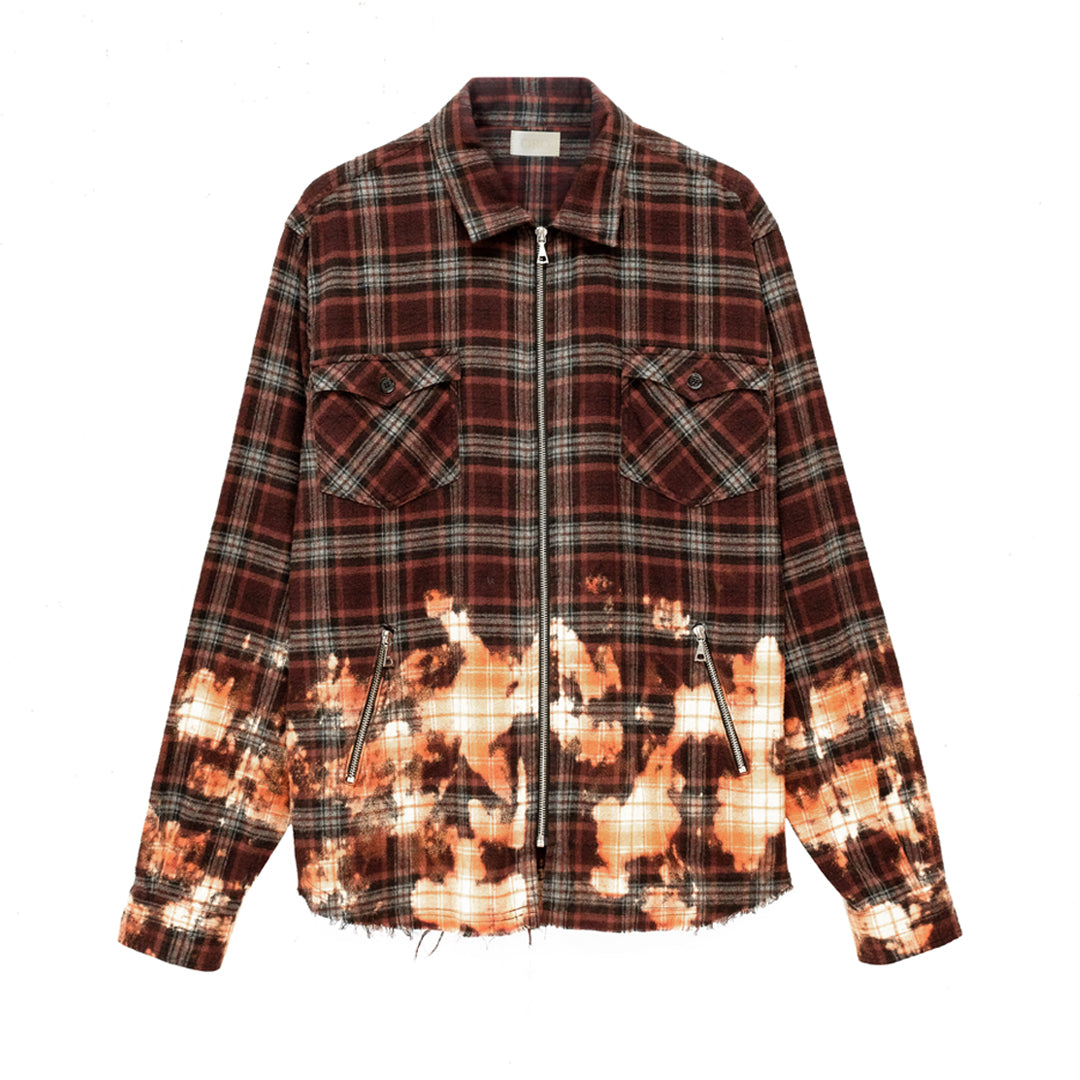 THE SAKI PLAID SHIRT