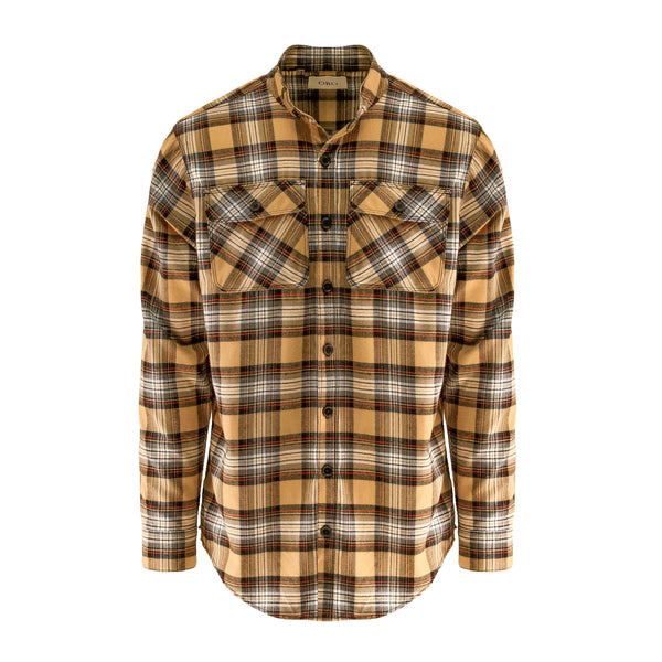THE HONEY TARTAN PLAID SHIRT