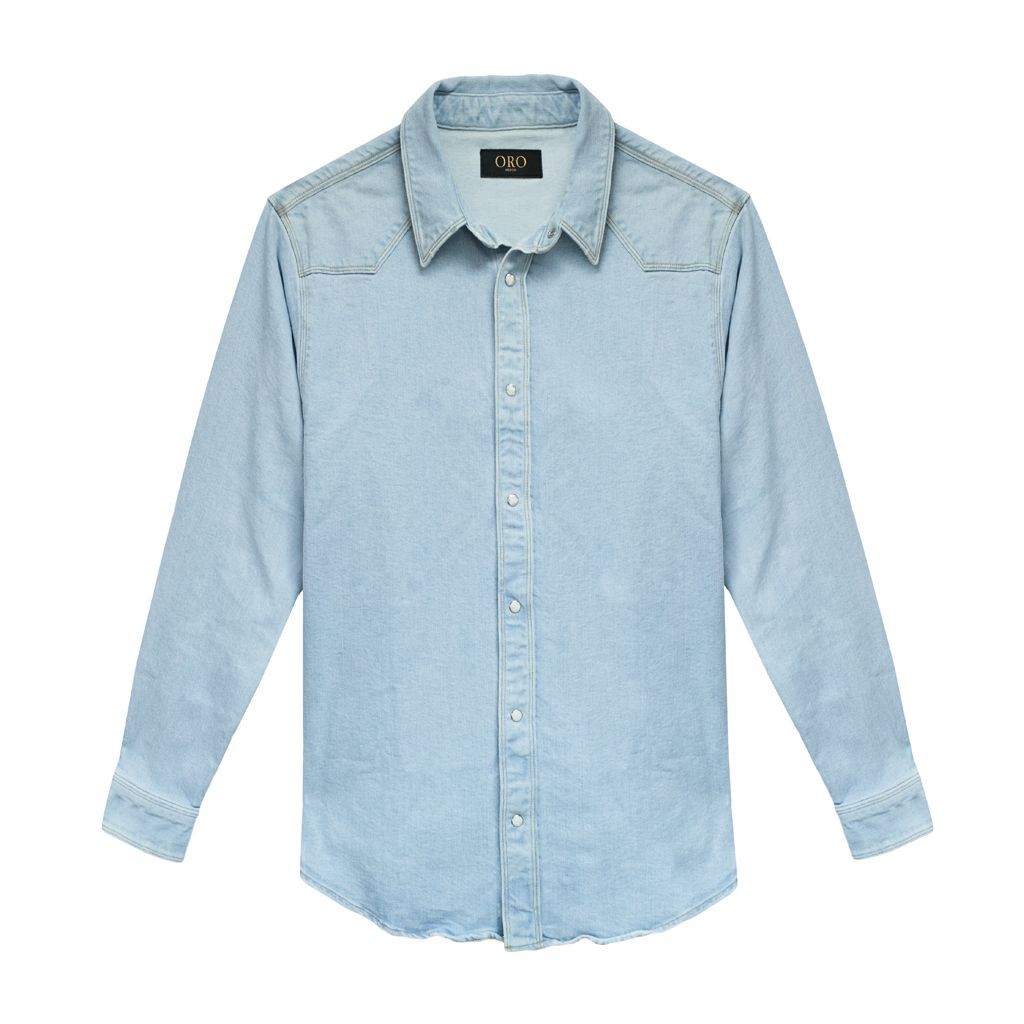 THE TONI DENIM SHIRT