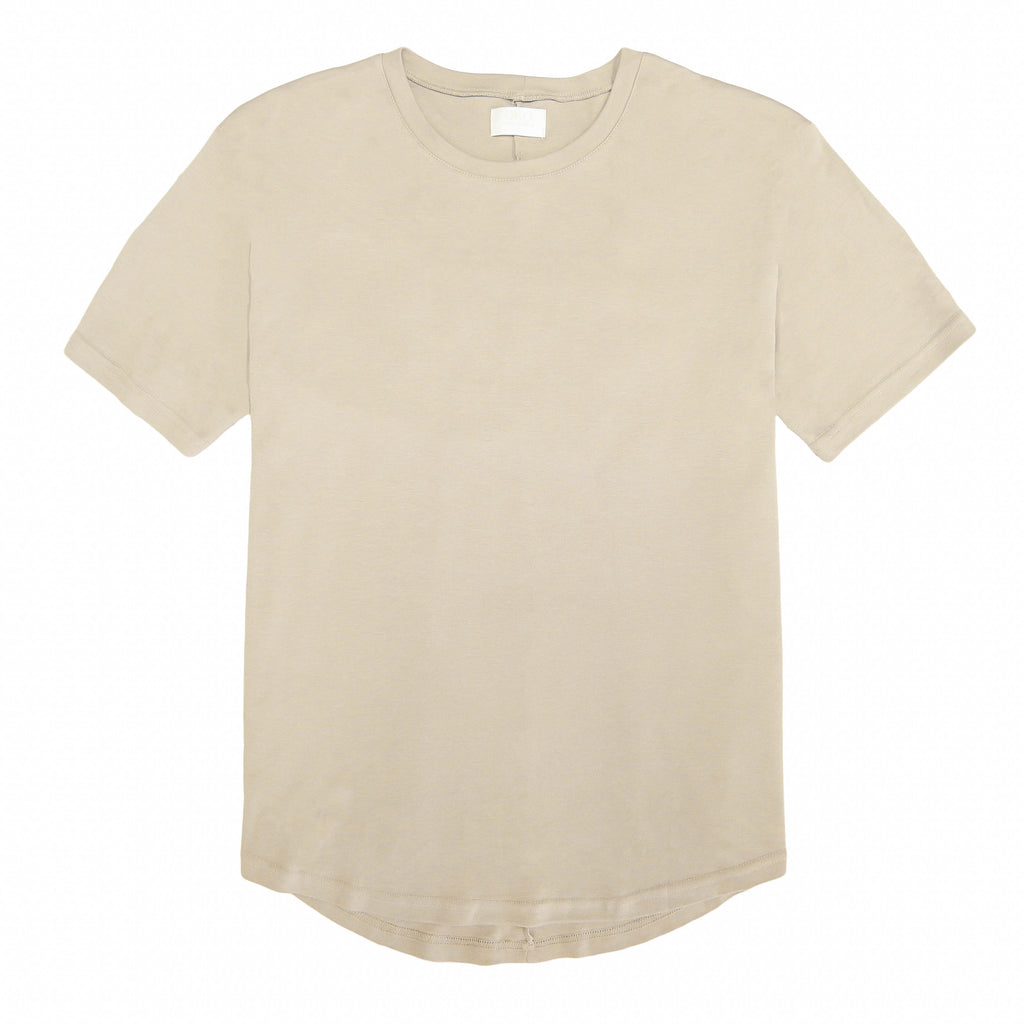 THE BEIGE DROP SHOULDER TEE