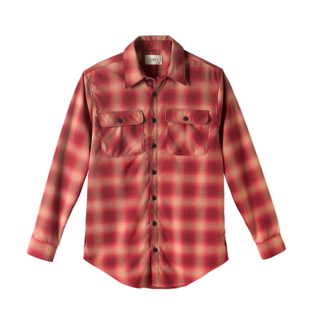 THE VALENTINE PLAID SHIRT