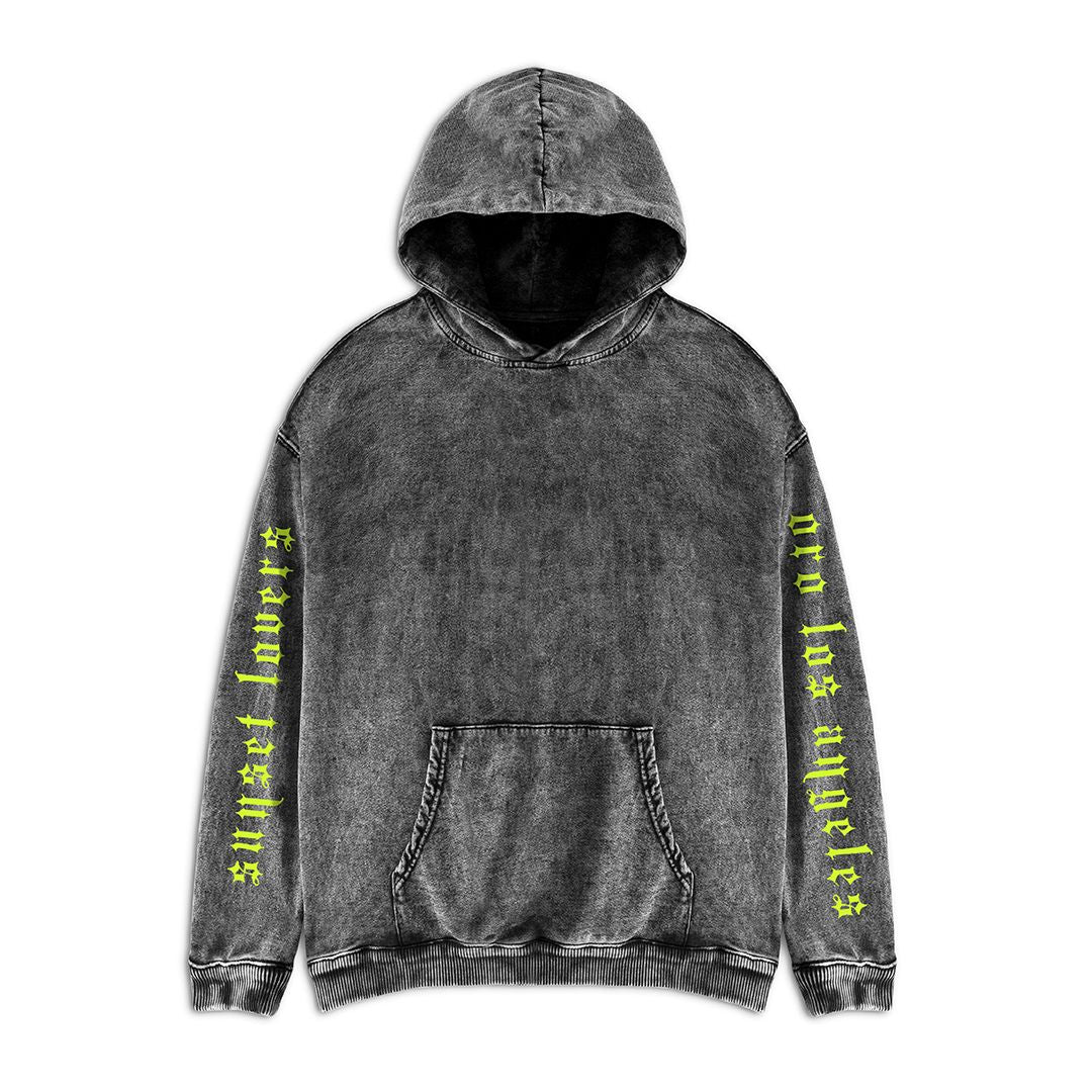 THE ACID GREY SUNSET HOODIE
