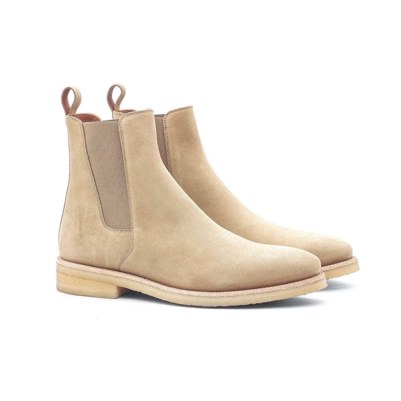 THE ALICANTE CREPE CHELSEA BOOTS