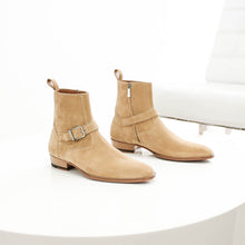 THE MADRID STRAP BOOTS