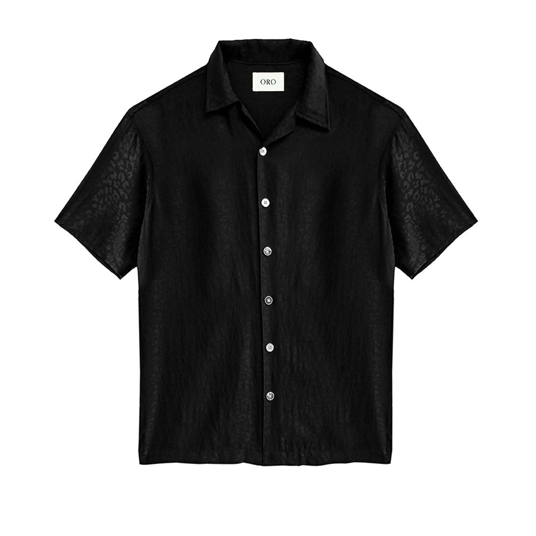 THE BLACK STEPHAN SHIRT