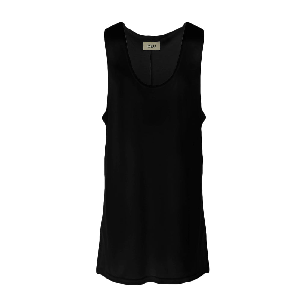 THE ESSENTIAL BLACK TANK TOP
