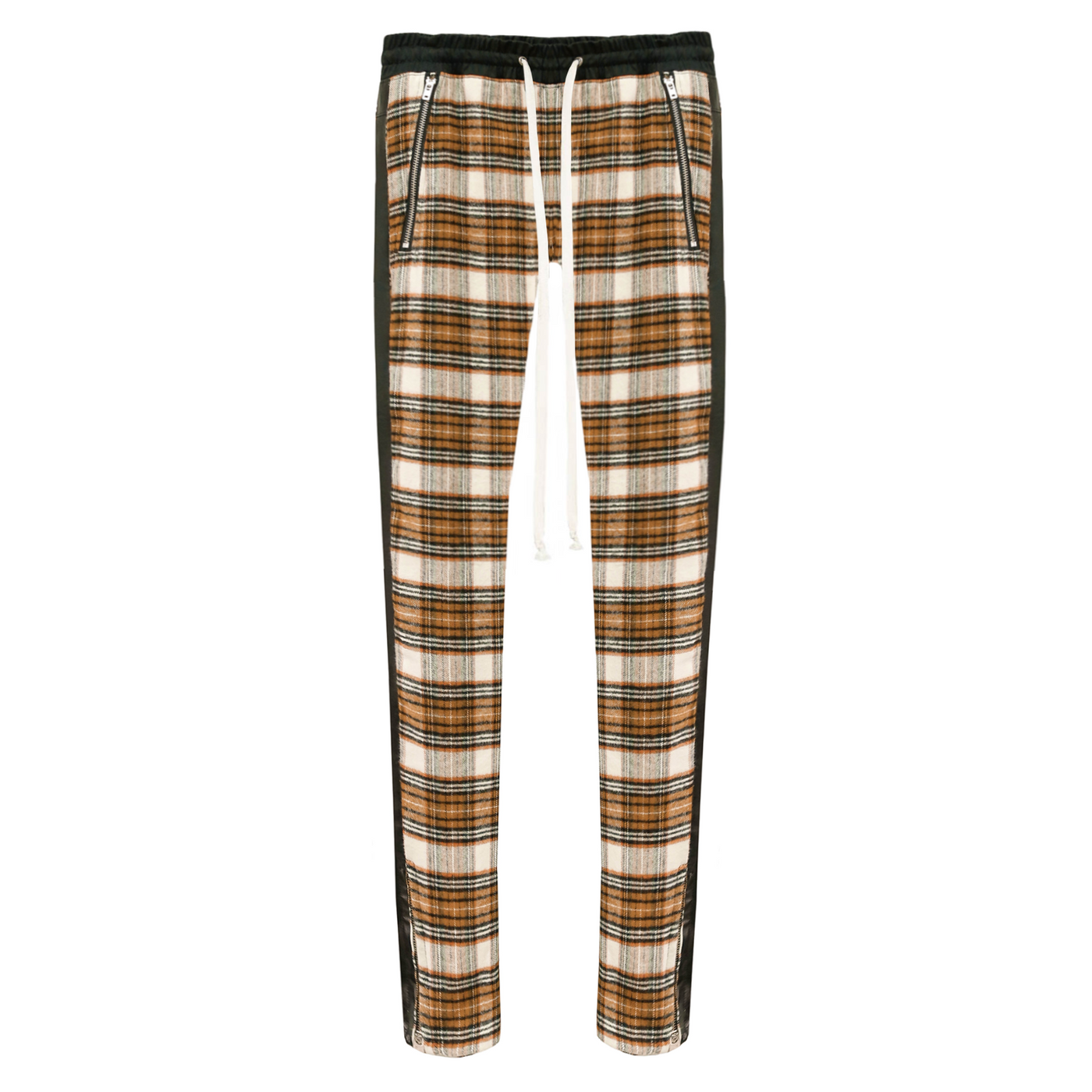 THE LIV PLAID DRAWSTRING PANTS