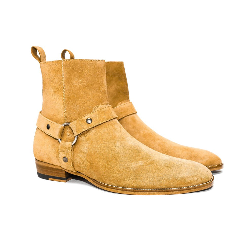 THE CLASSIC WHISKEY HARNESS BOOTS   ORO