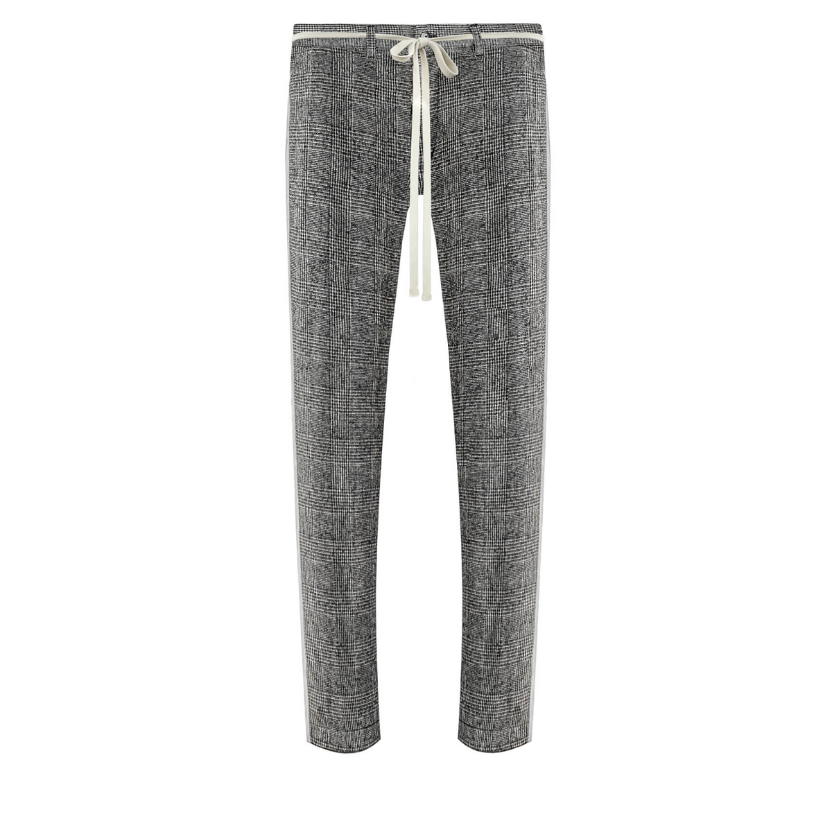 THE CROPPED WOOL TROUSERS
