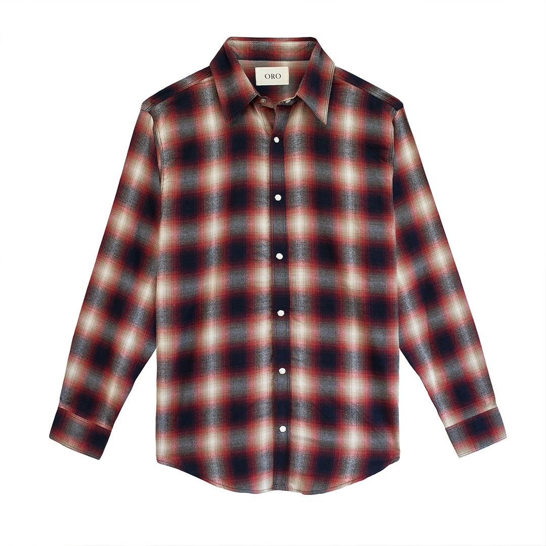 THE ELYSEE PLAID SHIRT