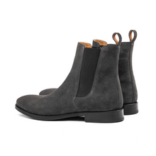 THE CLASSIC GREY CHELSEA BOOTS