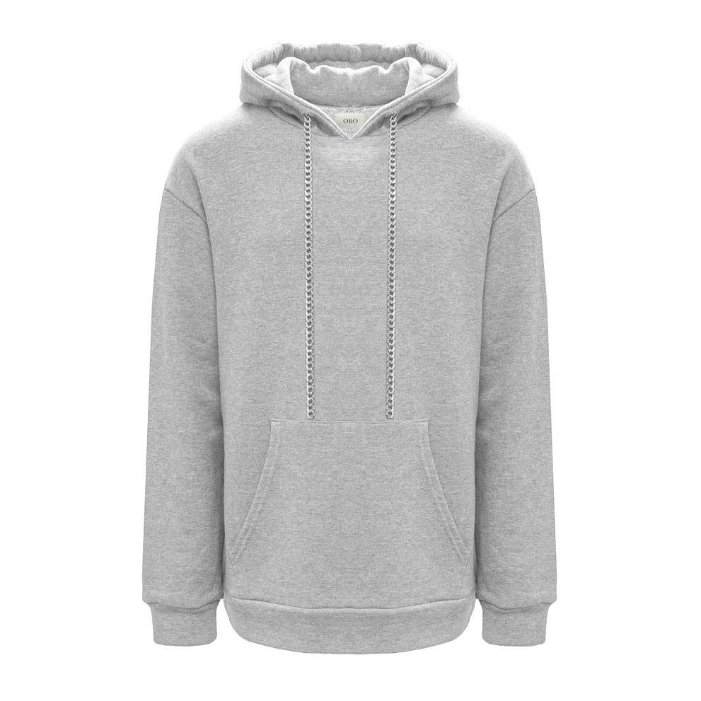 THE GREY CHAIN HOODIE
