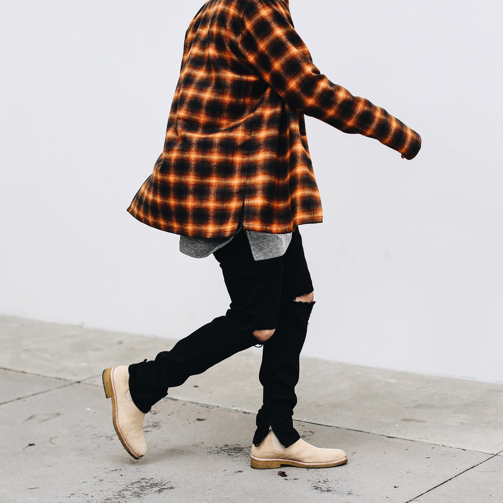 THE HARVEST BRUSH PLAID SHIRT - ORO Los Angeles - 2