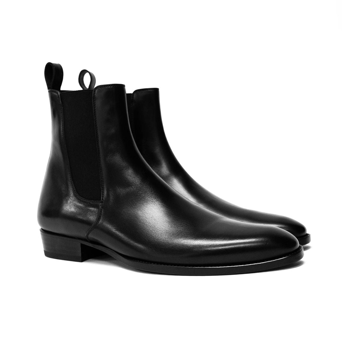 THE LEATHER GRANADA CHELSEA BOOTS