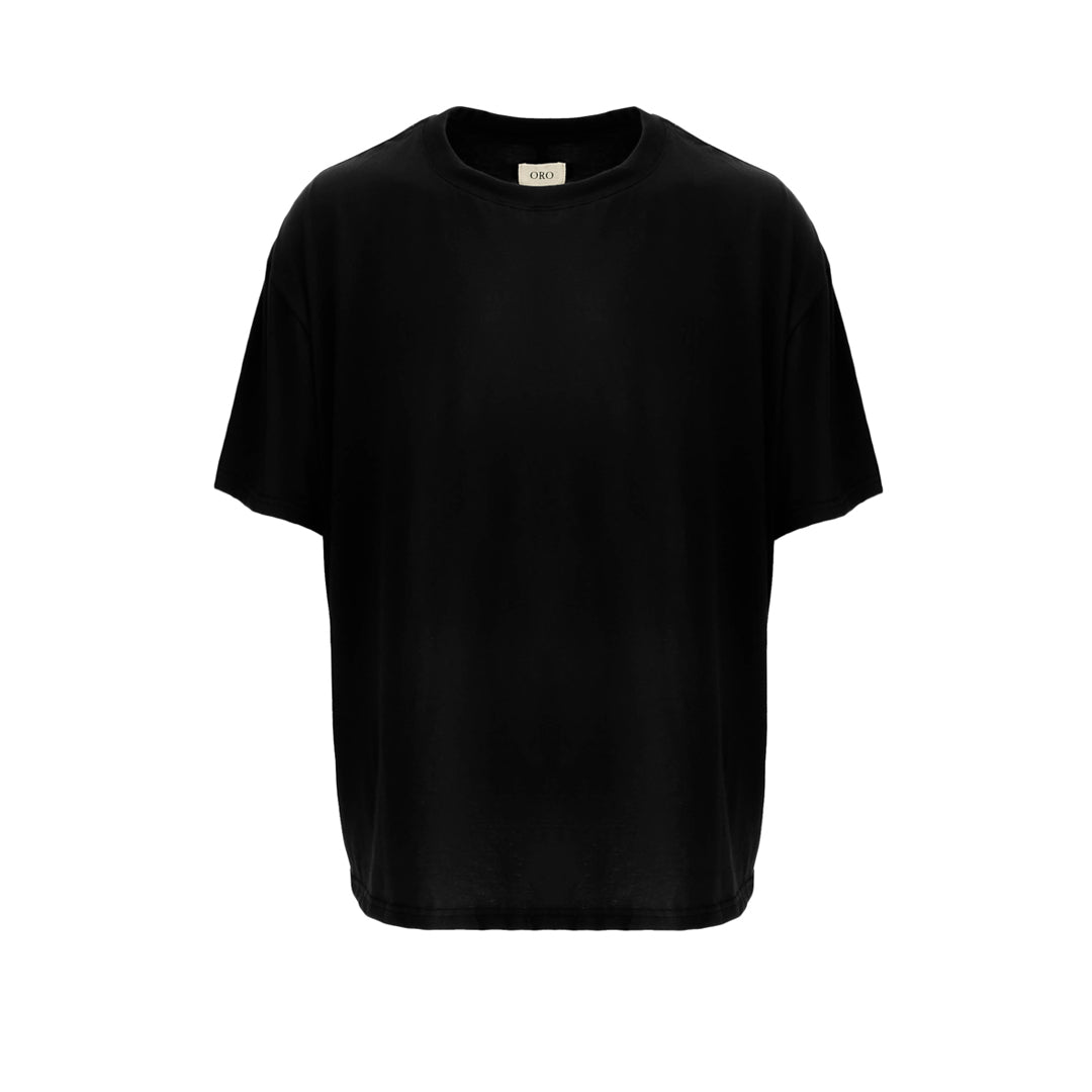 THE ESSENTIAL NOIR DROP SHOULDER TEE