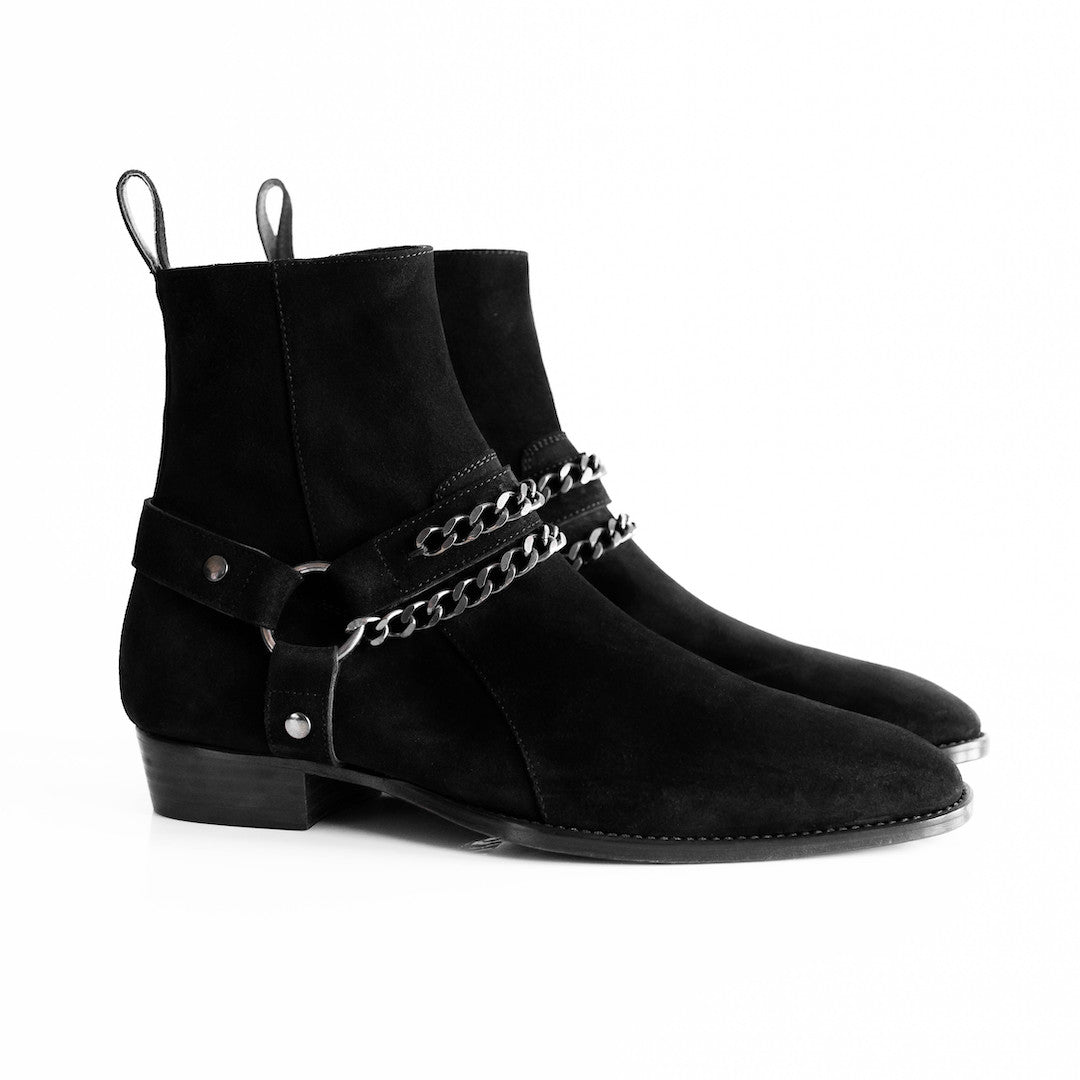 THE NOIR HENRIK HARNESS BOOTS