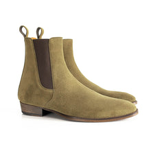 THE OLIVE GRANADA CHELSEA BOOTS