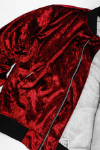 THE ROSE-BLOOD BOMBER JACKET