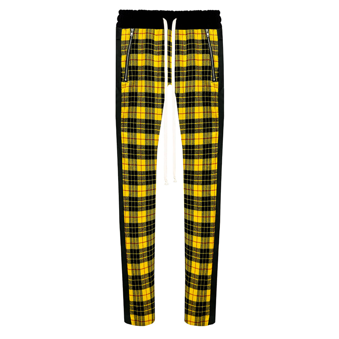 THE REGAL PLAID DRAWSTRING PANTS