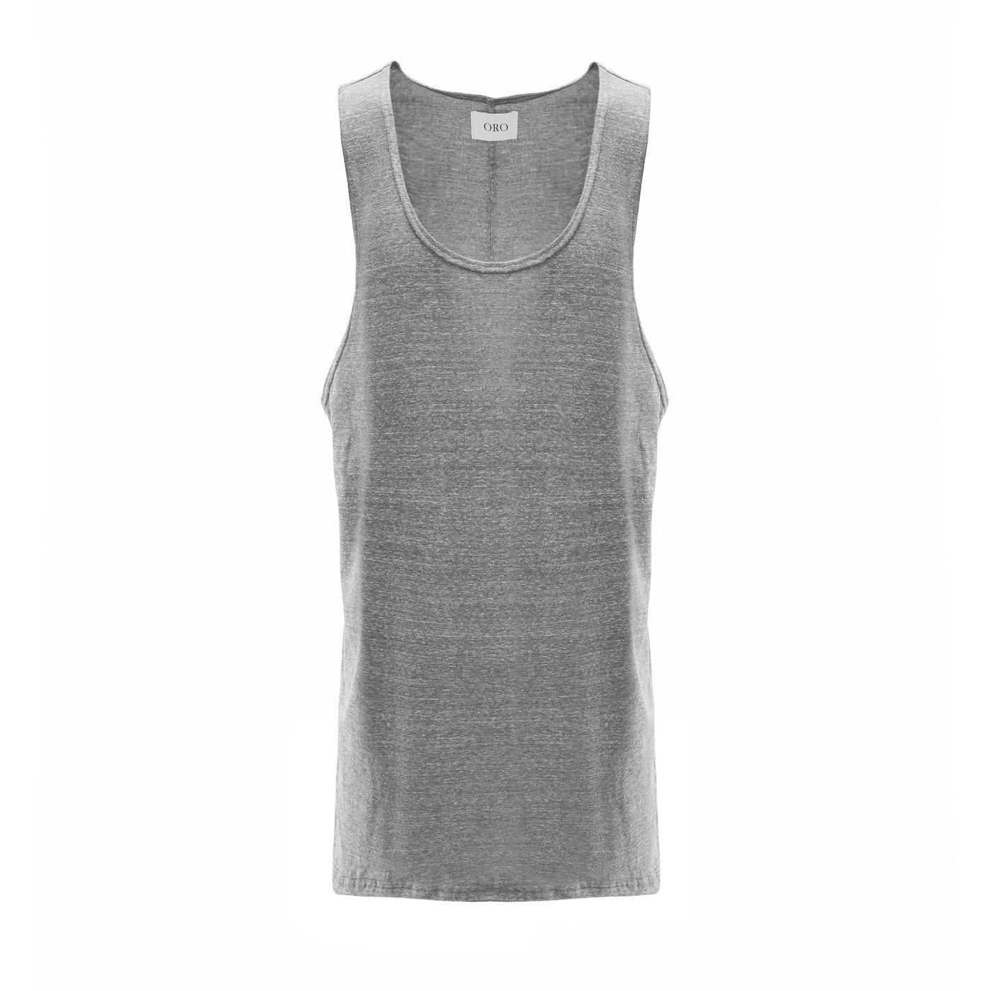 THE ESSENTIAL GREY TANK TOP