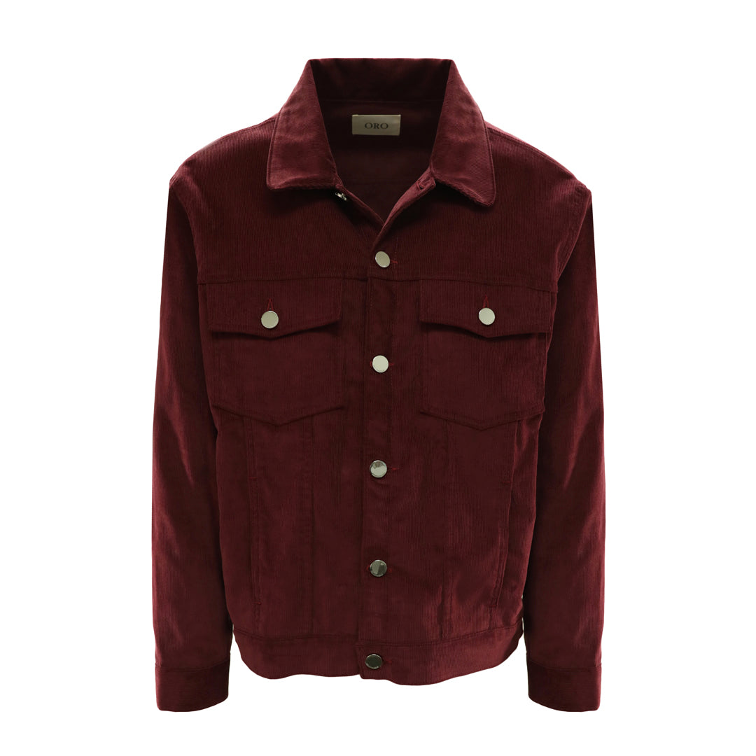 THE WINE CORDUROY JACKET