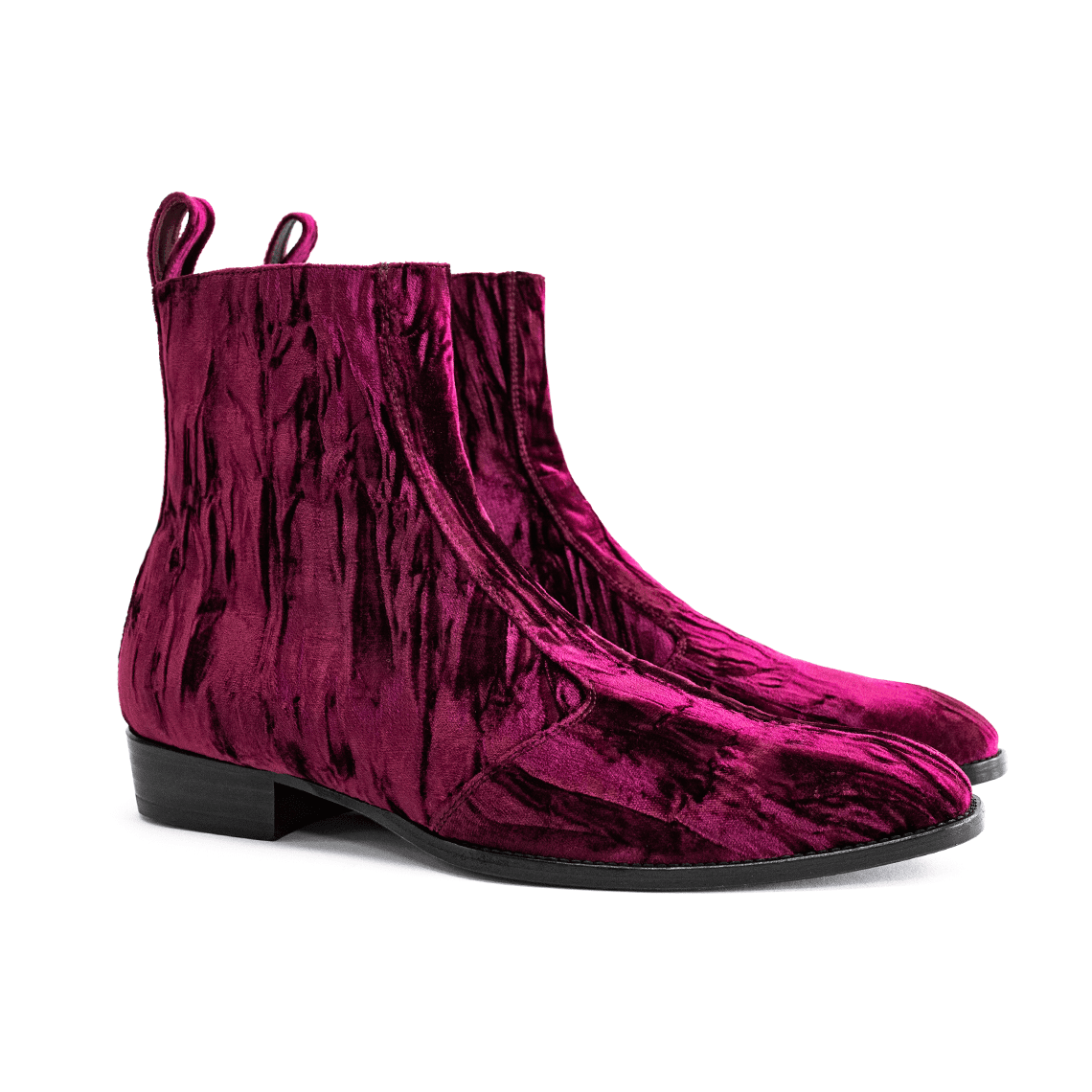 THE WINE REGGIO SIDEZIP BOOTS