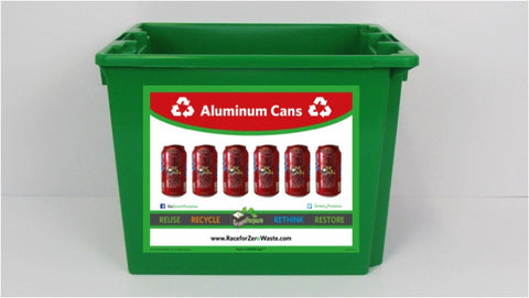 Aluminum Can Curbside Recycling Tote - My Green Purpose