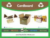 "Recycling Label Sticker (11""x8.5"") - My Green Purpose"
