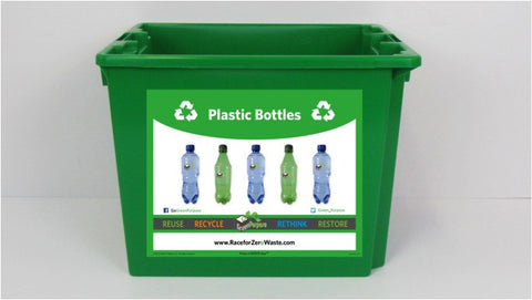 Plastic Bottle Curbside Recycling Tote - My Green Purpose