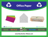 Office Paper Curbside Recycling Tote - My Green Purpose