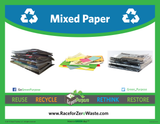 Mixed Paper Curbside Recycling Tote - My Green Purpose