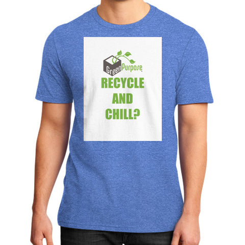 District T-Shirt (on man) - My Green Purpose