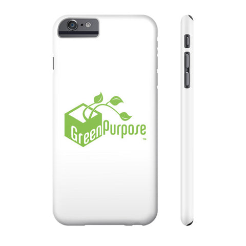 Green Purpose Phone Case - My Green Purpose