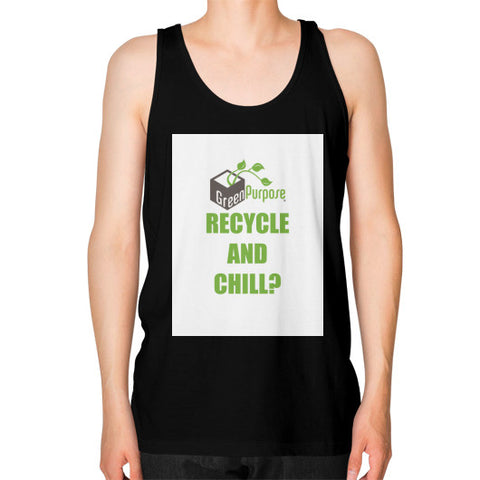 Unisex Fine Jersey Tank (on man) - My Green Purpose
