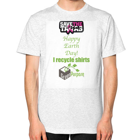 Unisex T-Shirt (on man) - My Green Purpose
